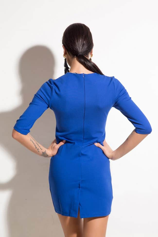 Къса дамска рокля JENNY