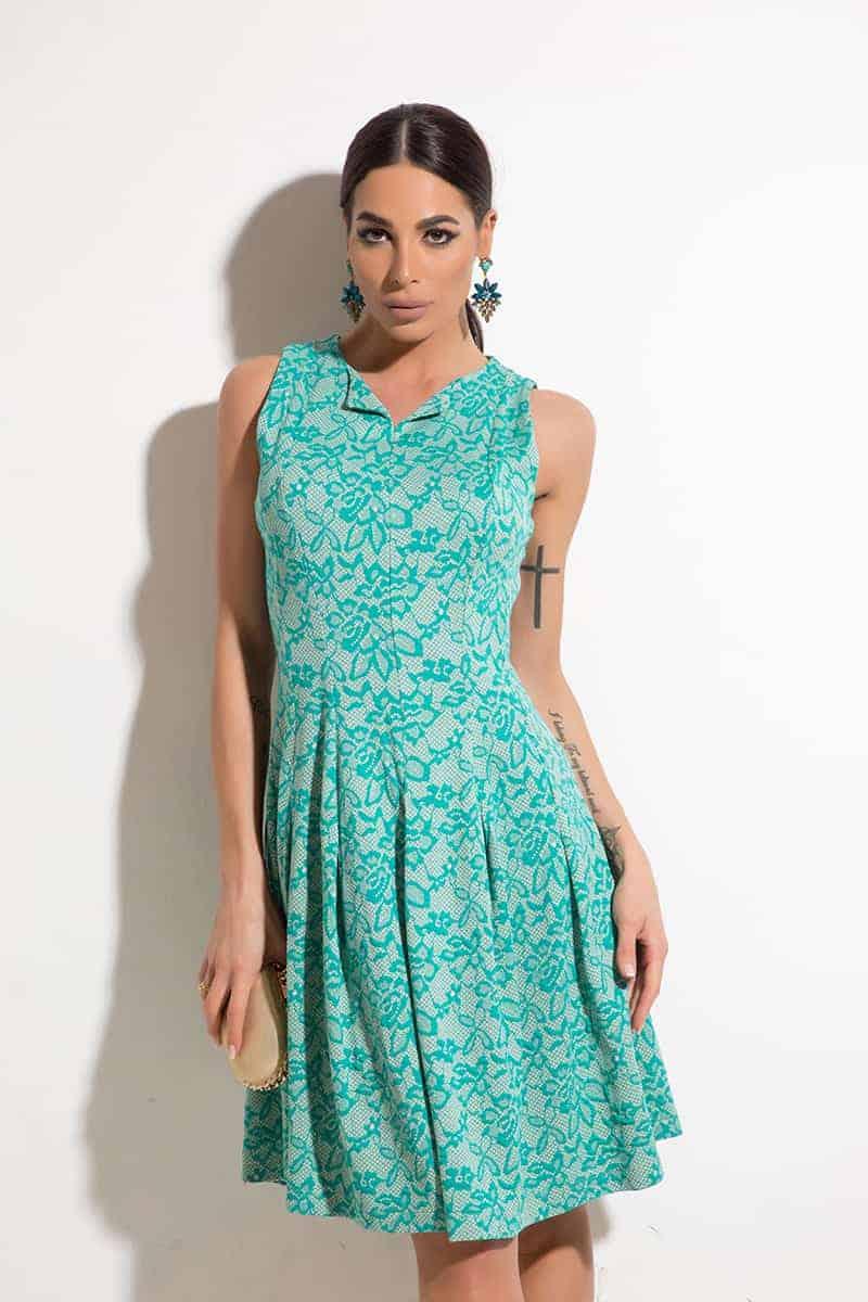 Елегантна дамска рокля SHAMY