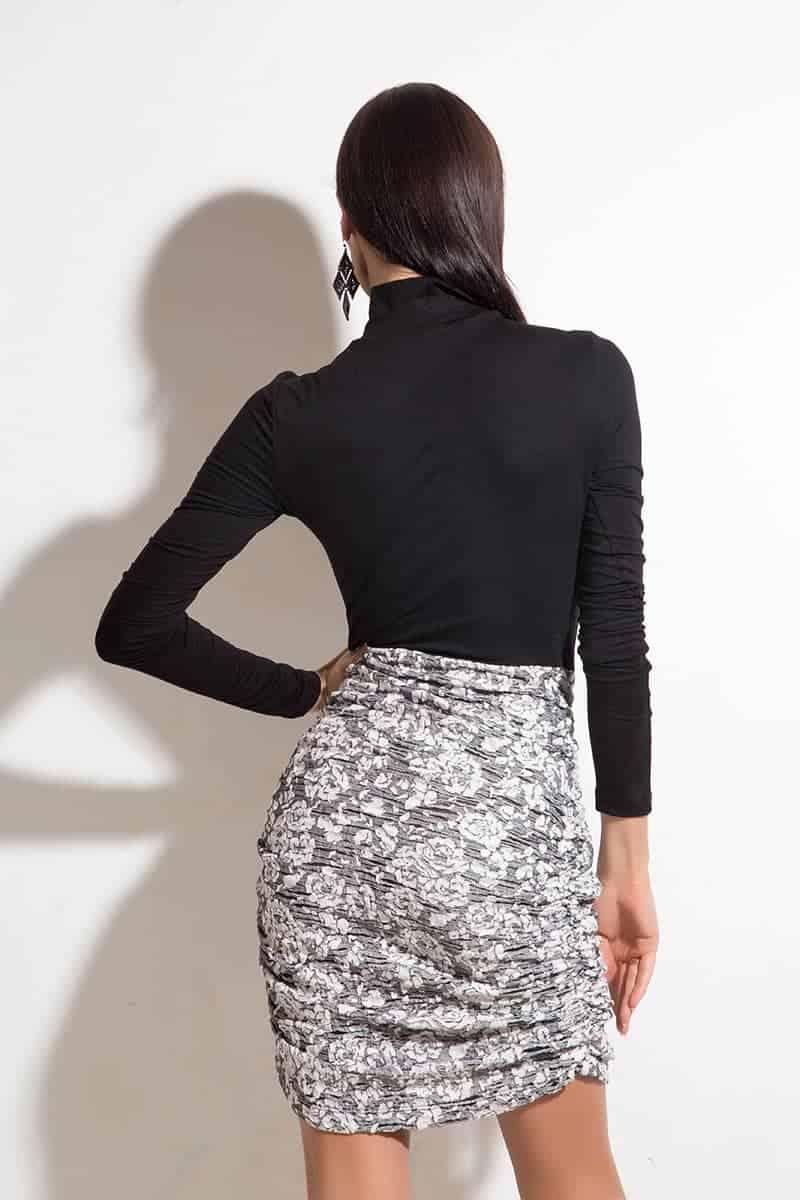 Стилна дамска рокля BELIA
