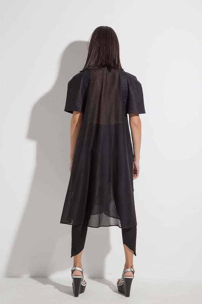 Елегантна дълга риза AMIDA