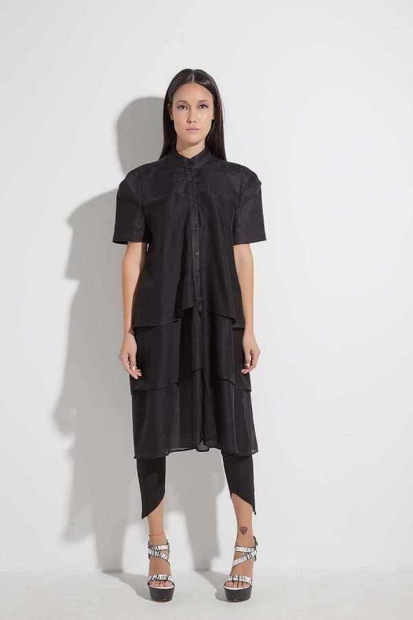 Elegant long shirt AMIDA