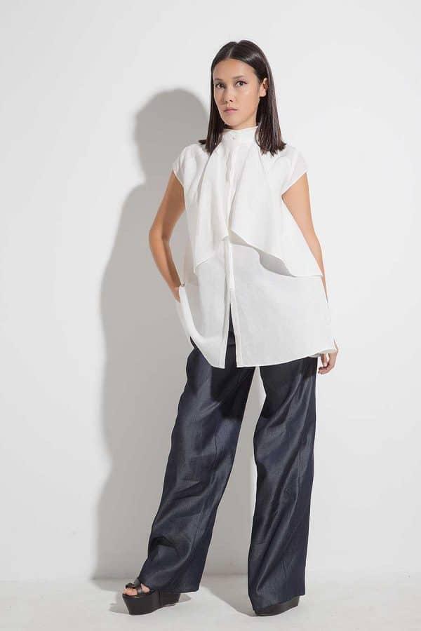 Elegant ladies shirt SIBYL