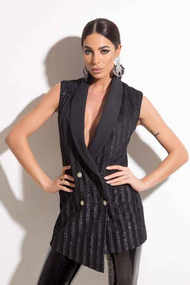 Стилно дамско сако AMARA