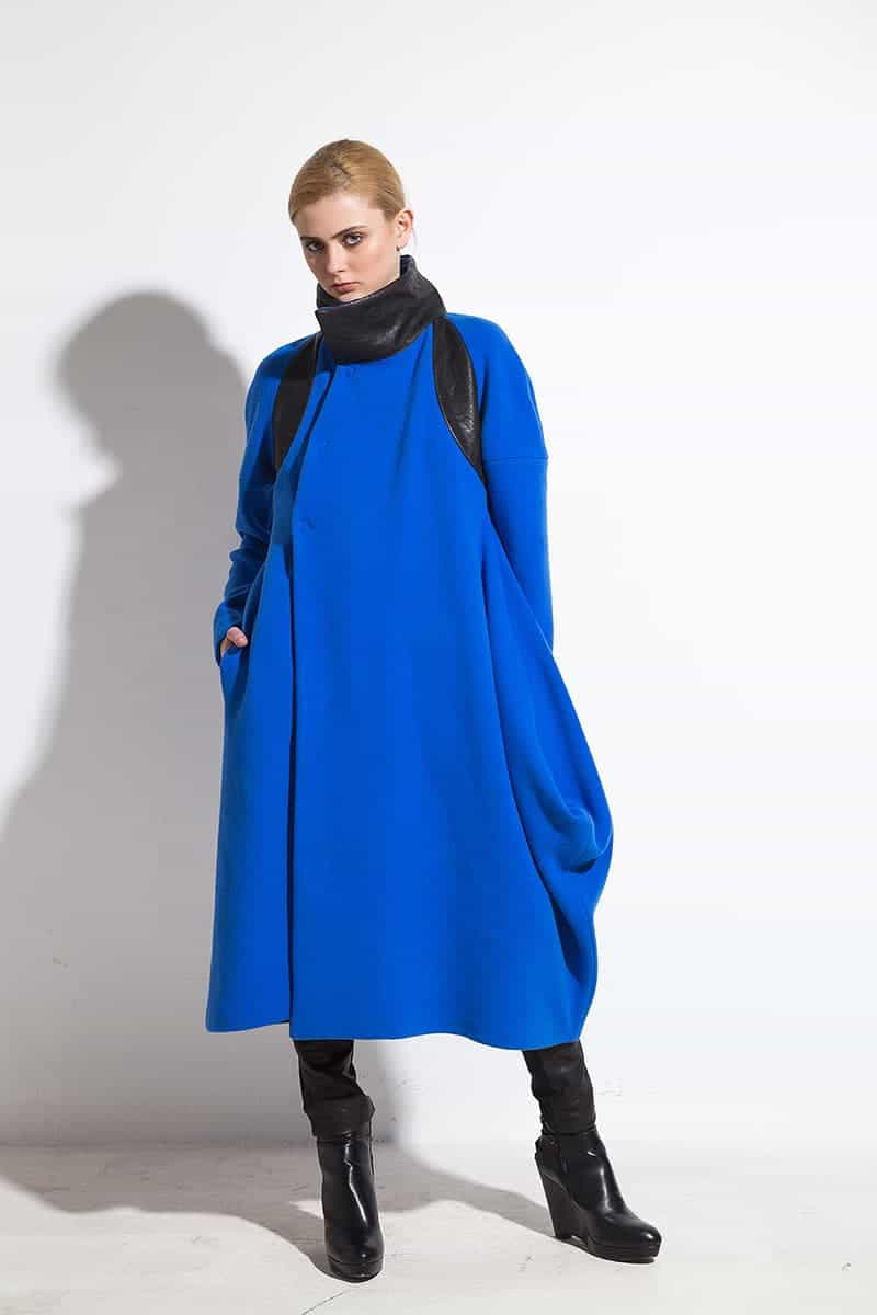 Women long coat ADMIRAL