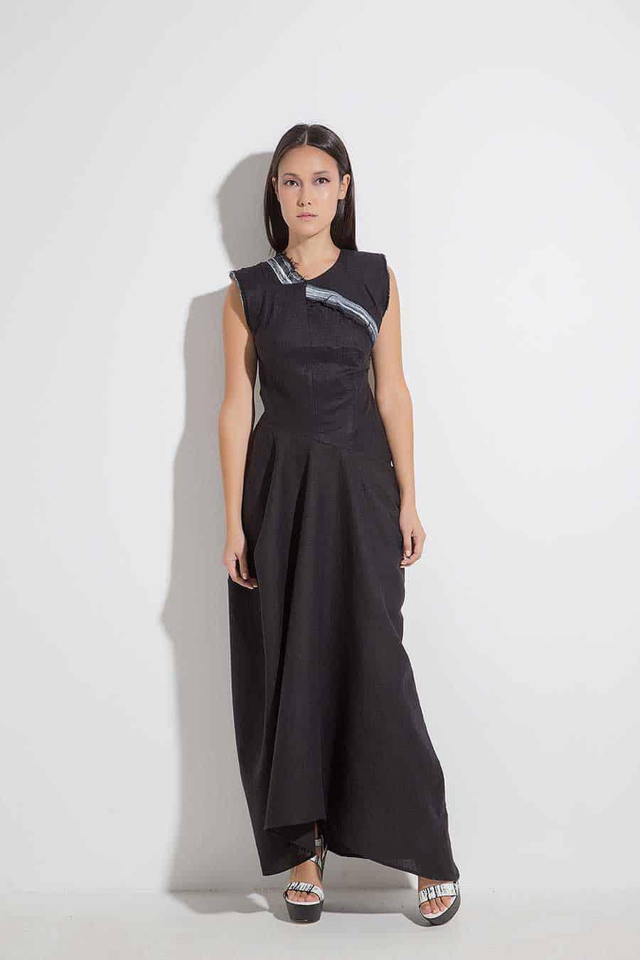Long ladies dress IZIDORA