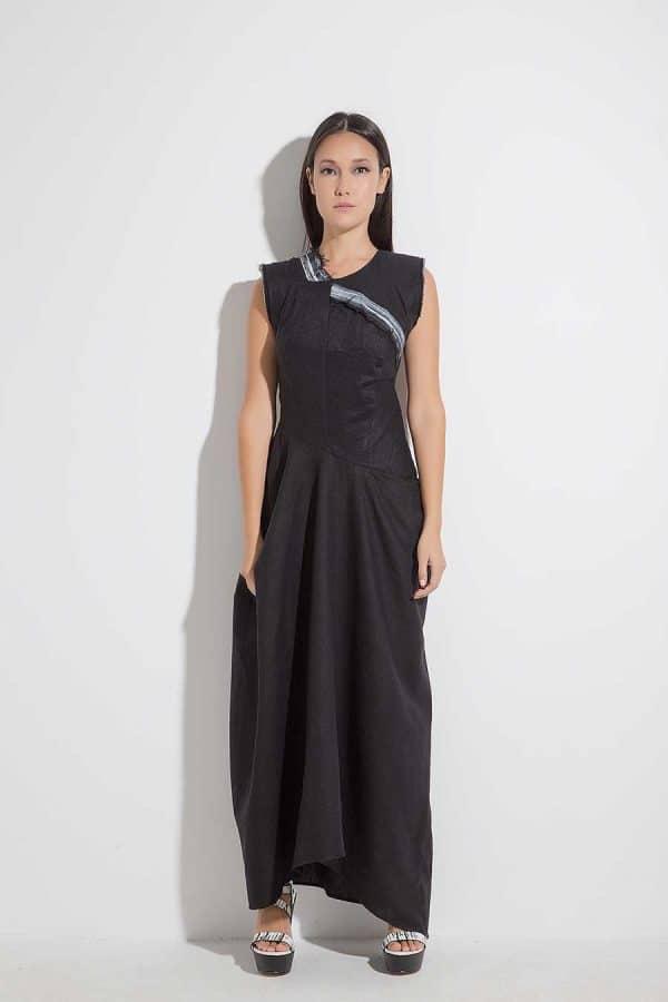 Дълга дамска рокля IZIDORA