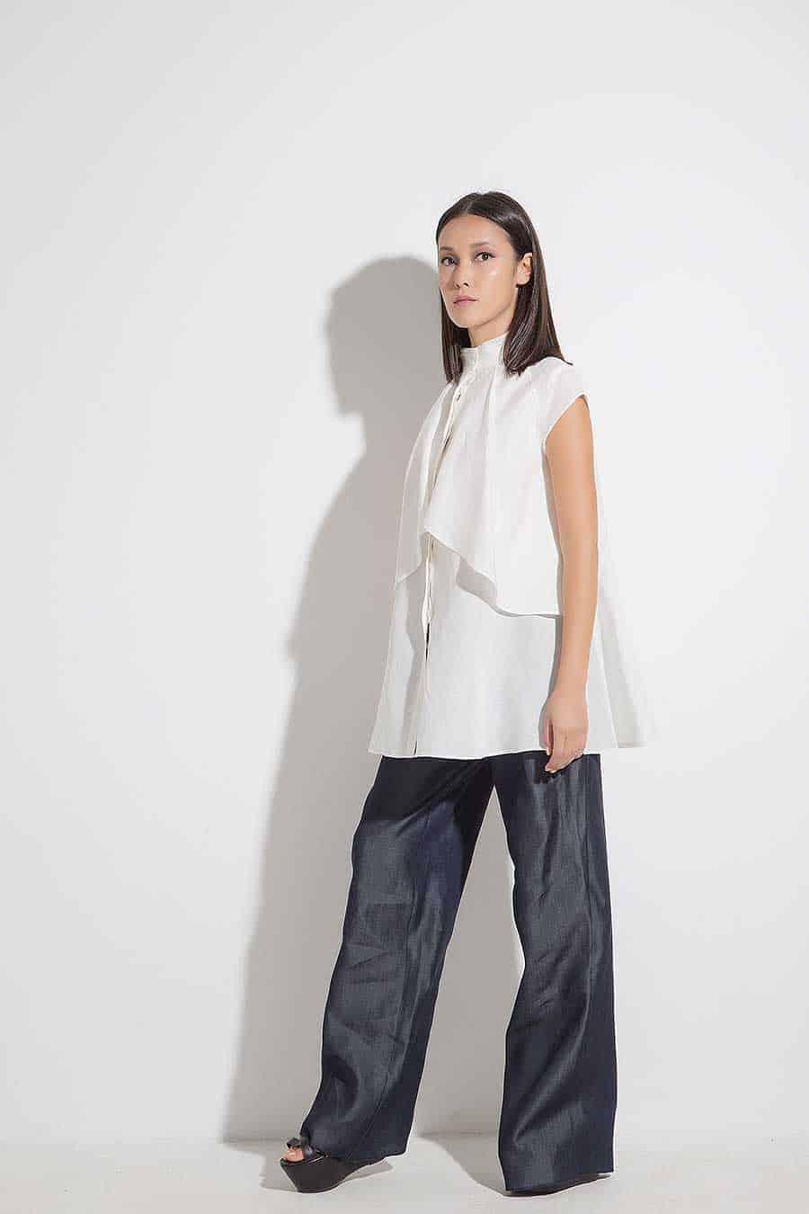 Спортно-елегантен дамски панталон SHEYA