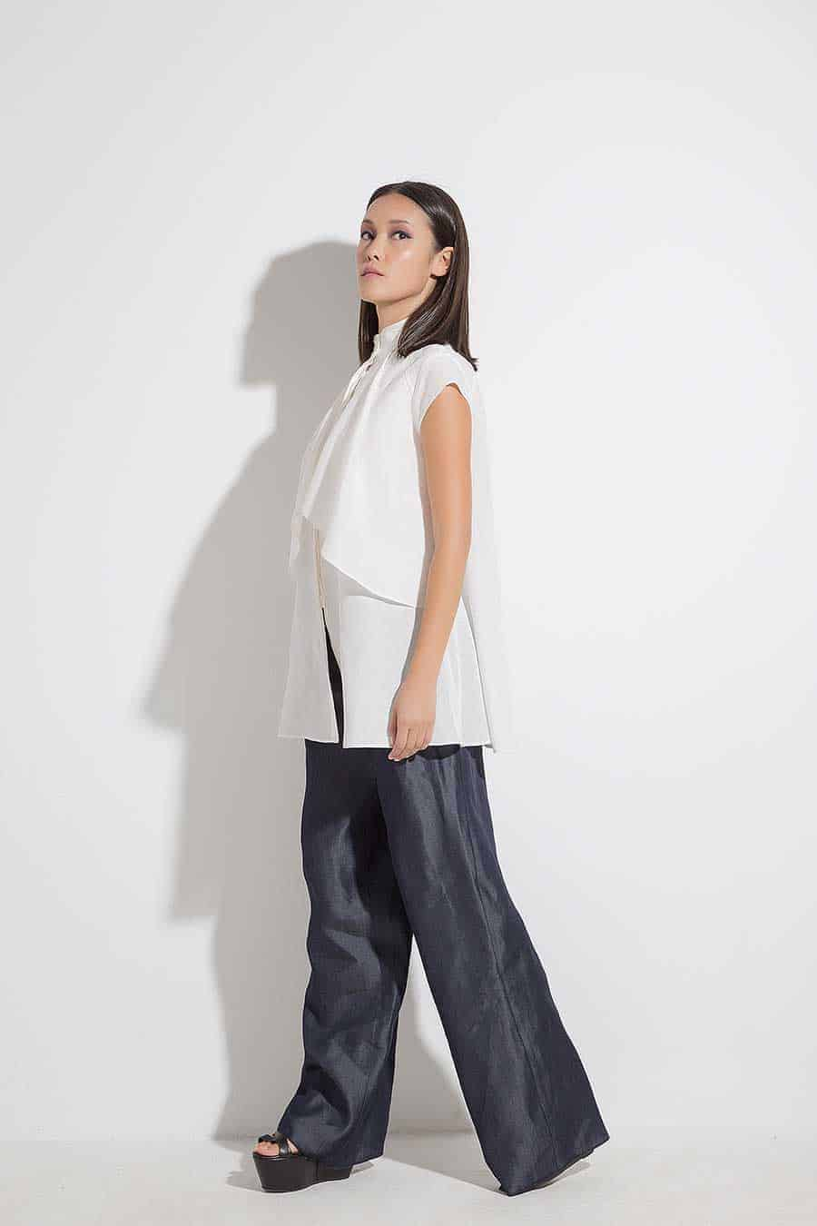 Sports-elegant women's trousers SHEYA