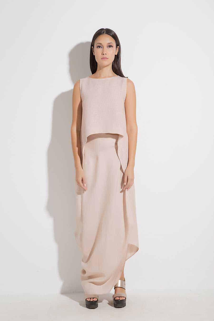 Long lady's skirt DAMARA