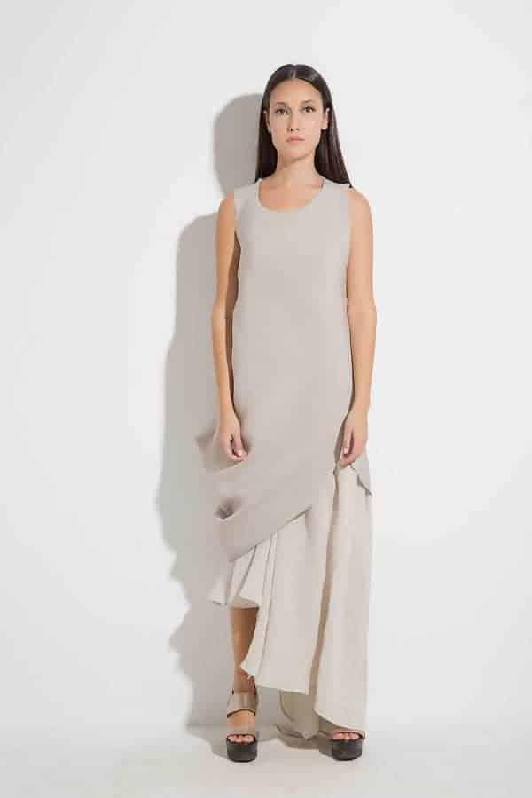 Стилна дълга рокля YAVINA