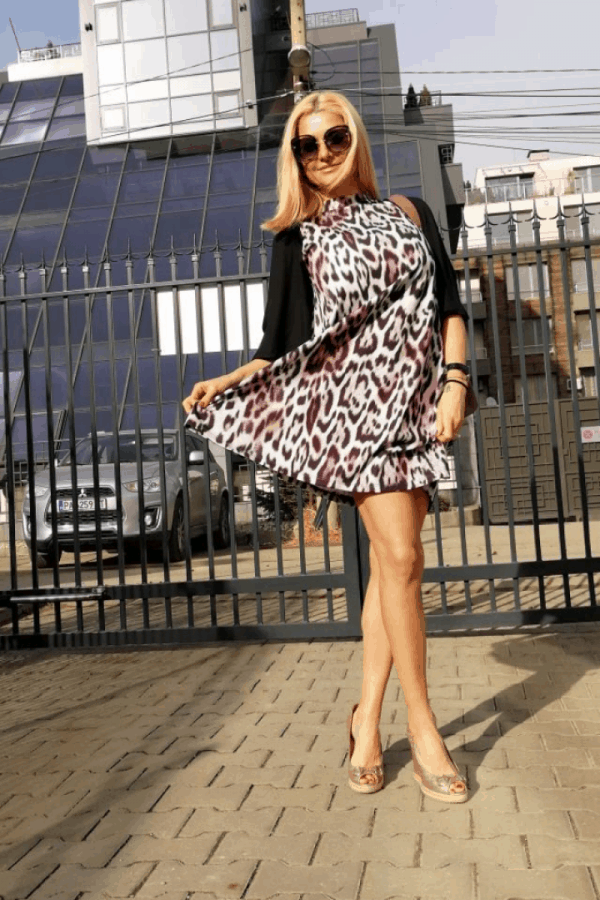 Свободна дамска рокля GIANNA