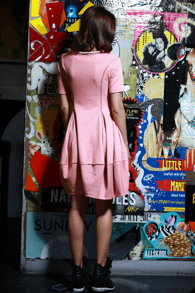 Спортно-елегантна рокля KISS