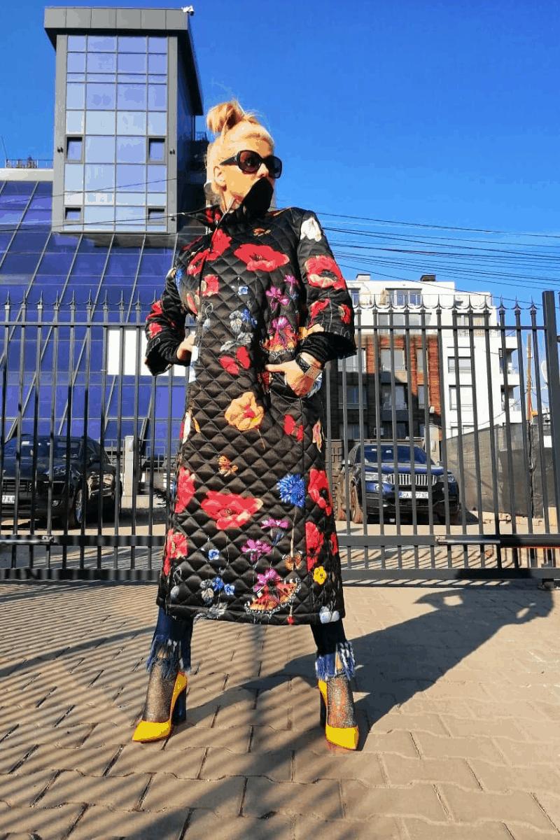 Women coat BUTTERFLY