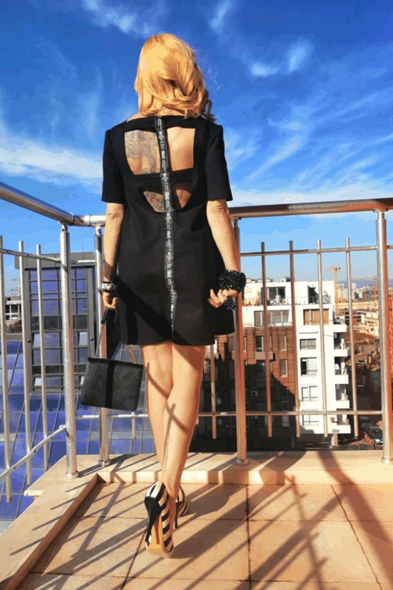 Свободна дамска рокля JAPAN