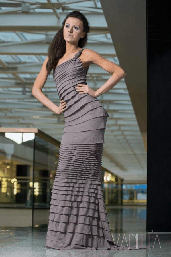 Дълга дамска рокля KAKITA