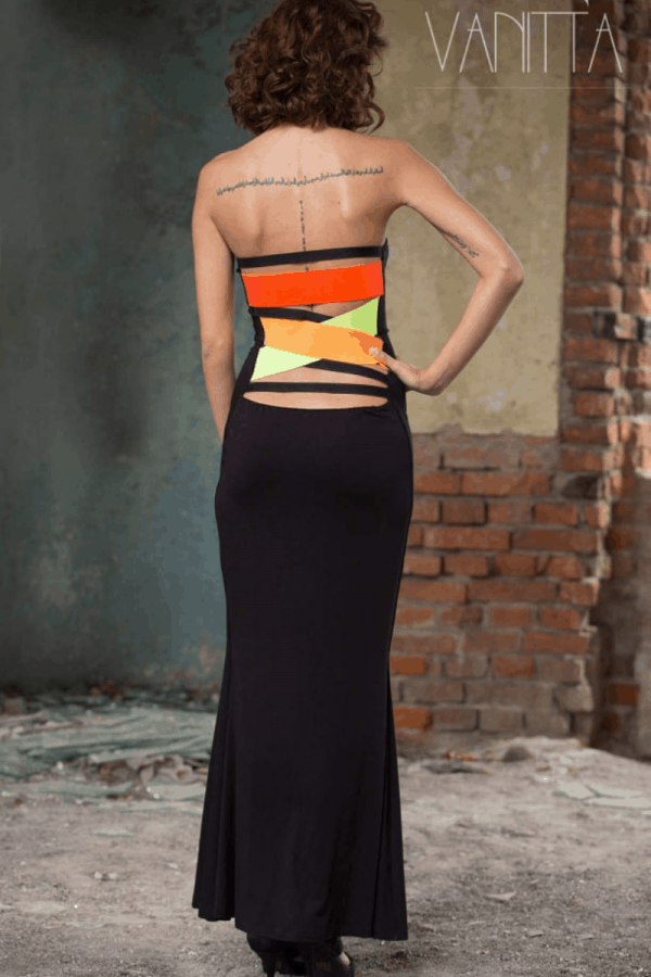 Дълга дамска рокля VISSA