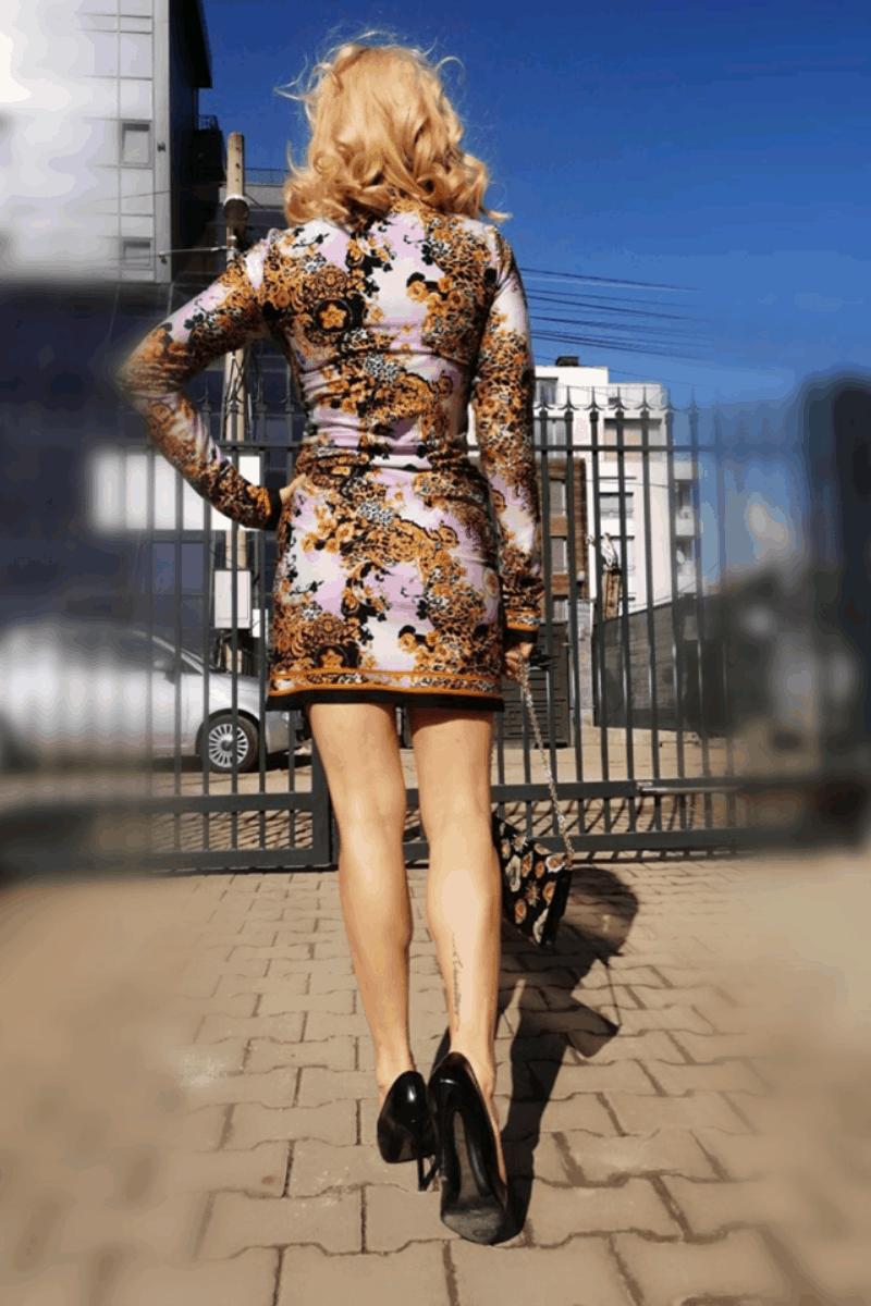 Дамска рокля PANTERA
