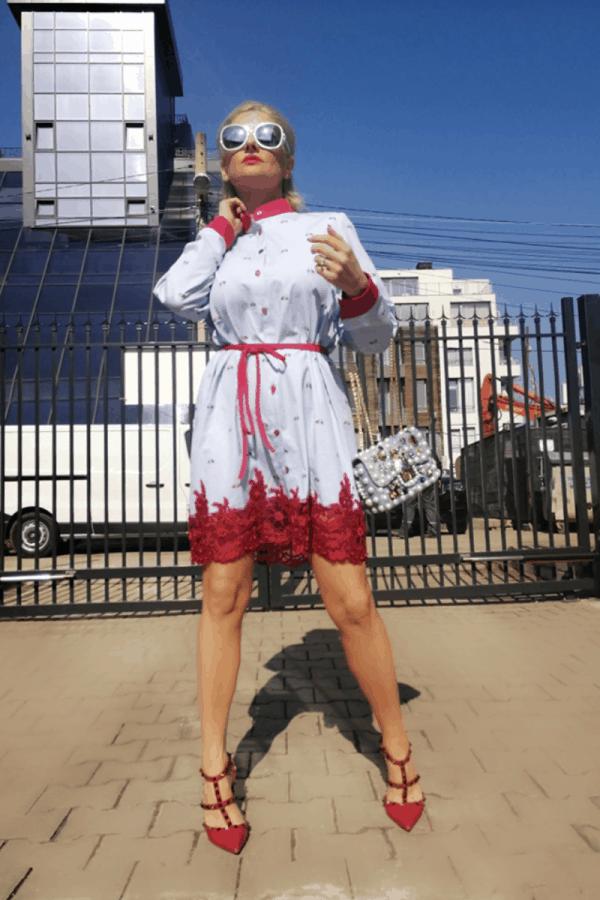 Дамска рокля DAMIRA