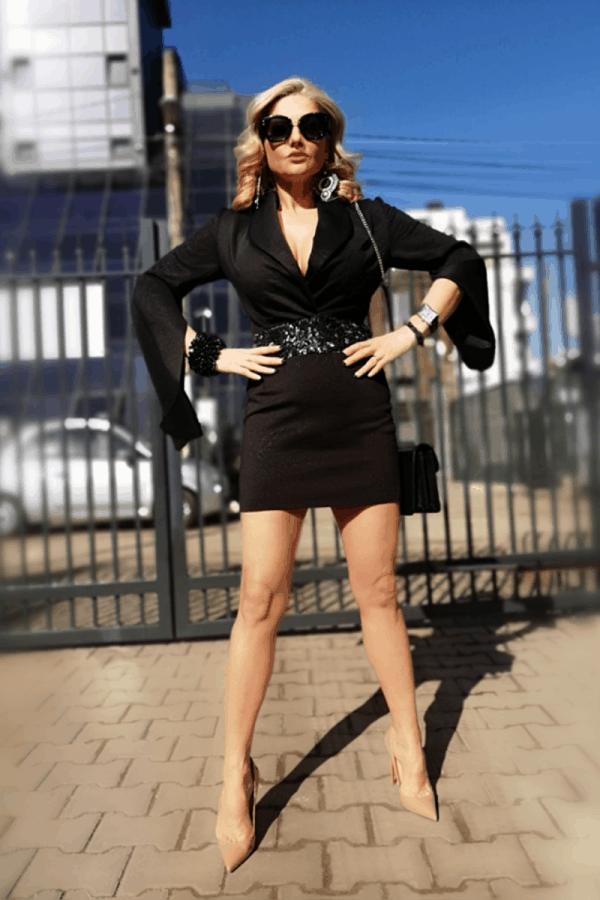 Дамска рокля MALENA