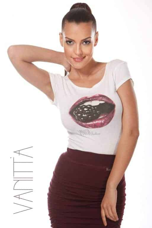 Ladies T-shirt BLACKBERRY