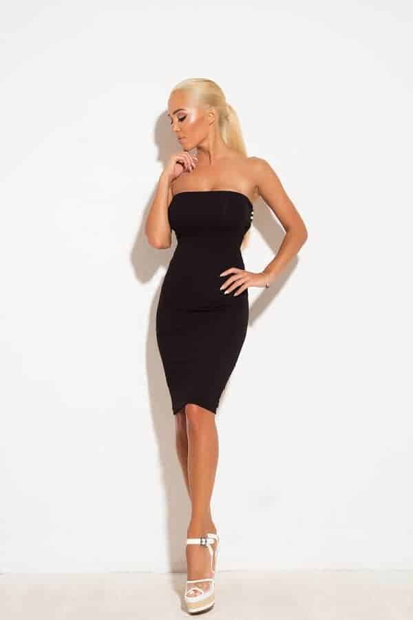 Къса дамска рокля FRESCA