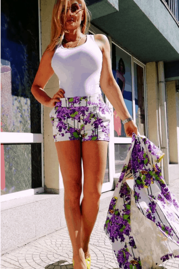 Дамски къси панталони 1030
