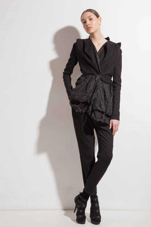 Extravagant women's jacket AW17020