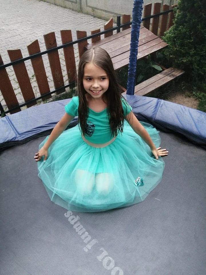 Children skirt of tulle 3001