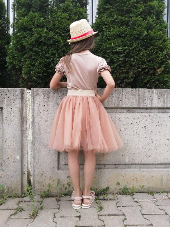 Children skirt of tulle 3002