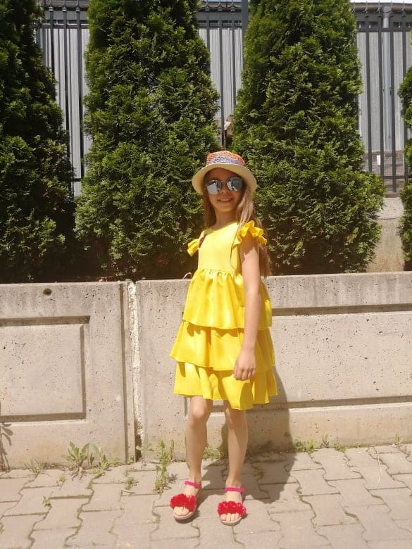 Children dress 3003