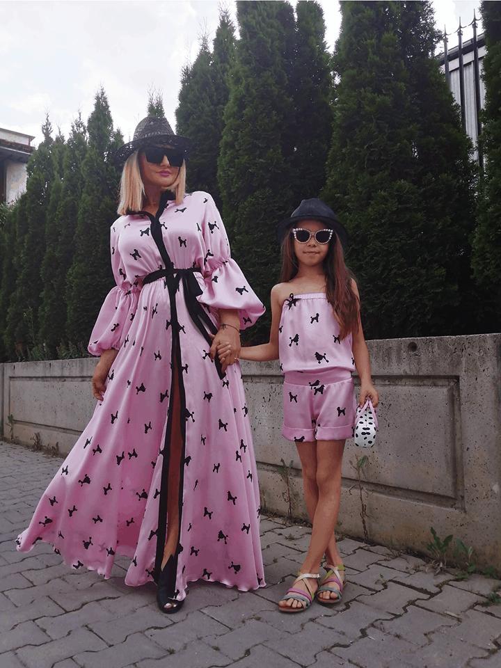 Long Ladies Dress 1075