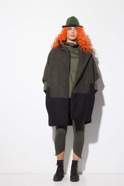 Дълго палто от астраган 1146