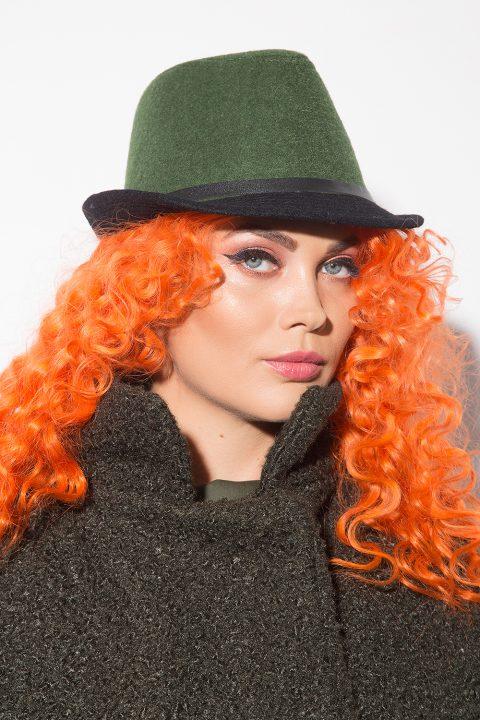 Елегантна дамска шапка 1152