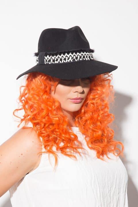 Елегантна дамска шапка 1153