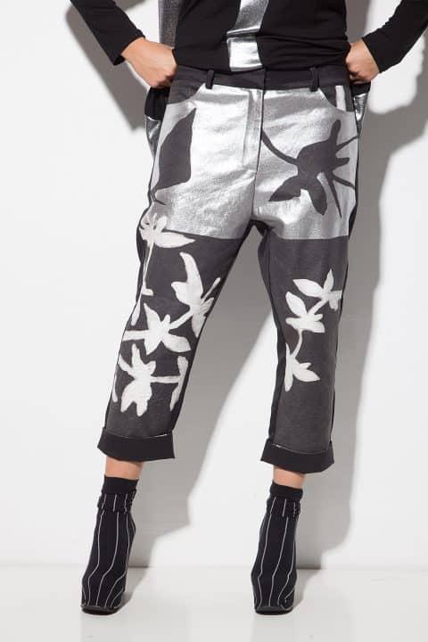 Спортно-елегантен дамски панталон 1128