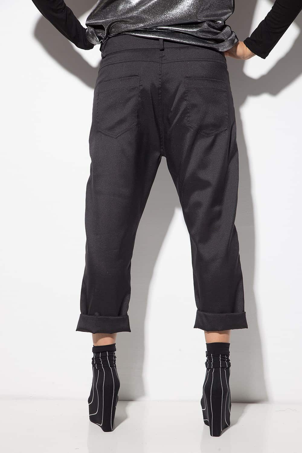 Sporty-elegant women's trousers 1128