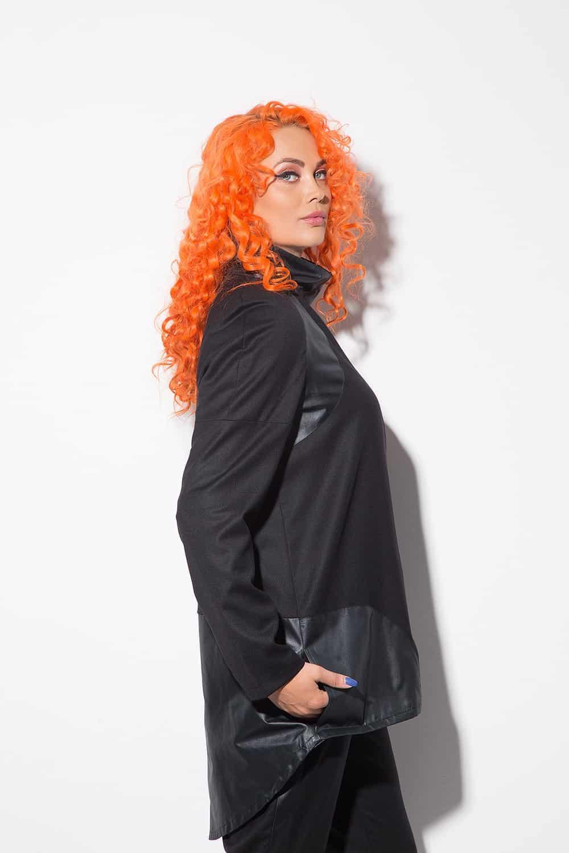 Long women's jacket 1116