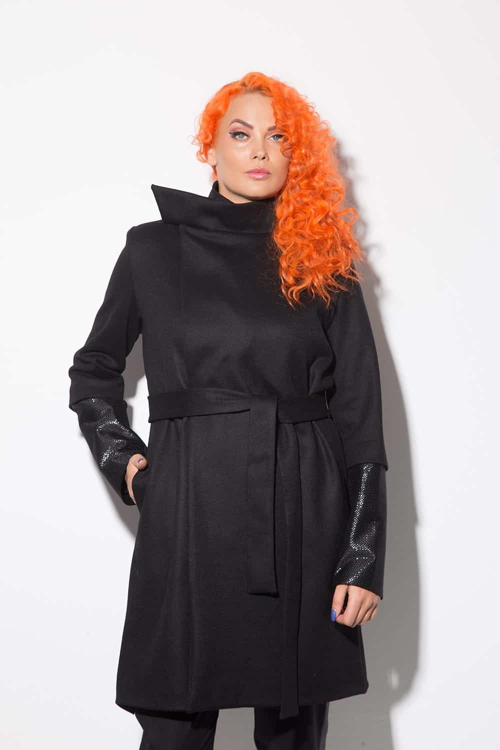 Women's long coat 1126