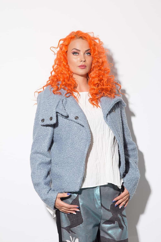 Women's short coat 1144