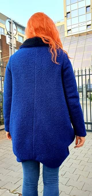 Двулицево дамско палто 1169