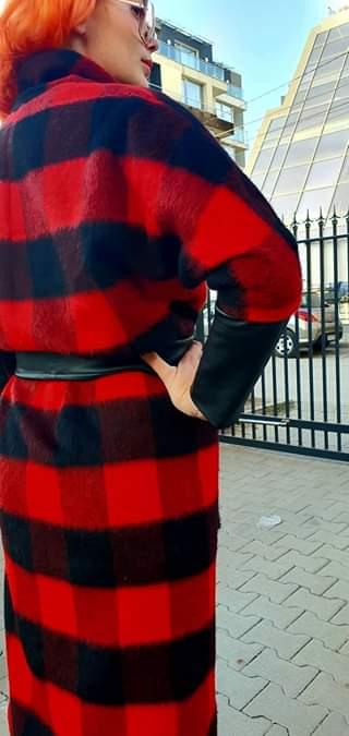 Дълго дамско палто 1170