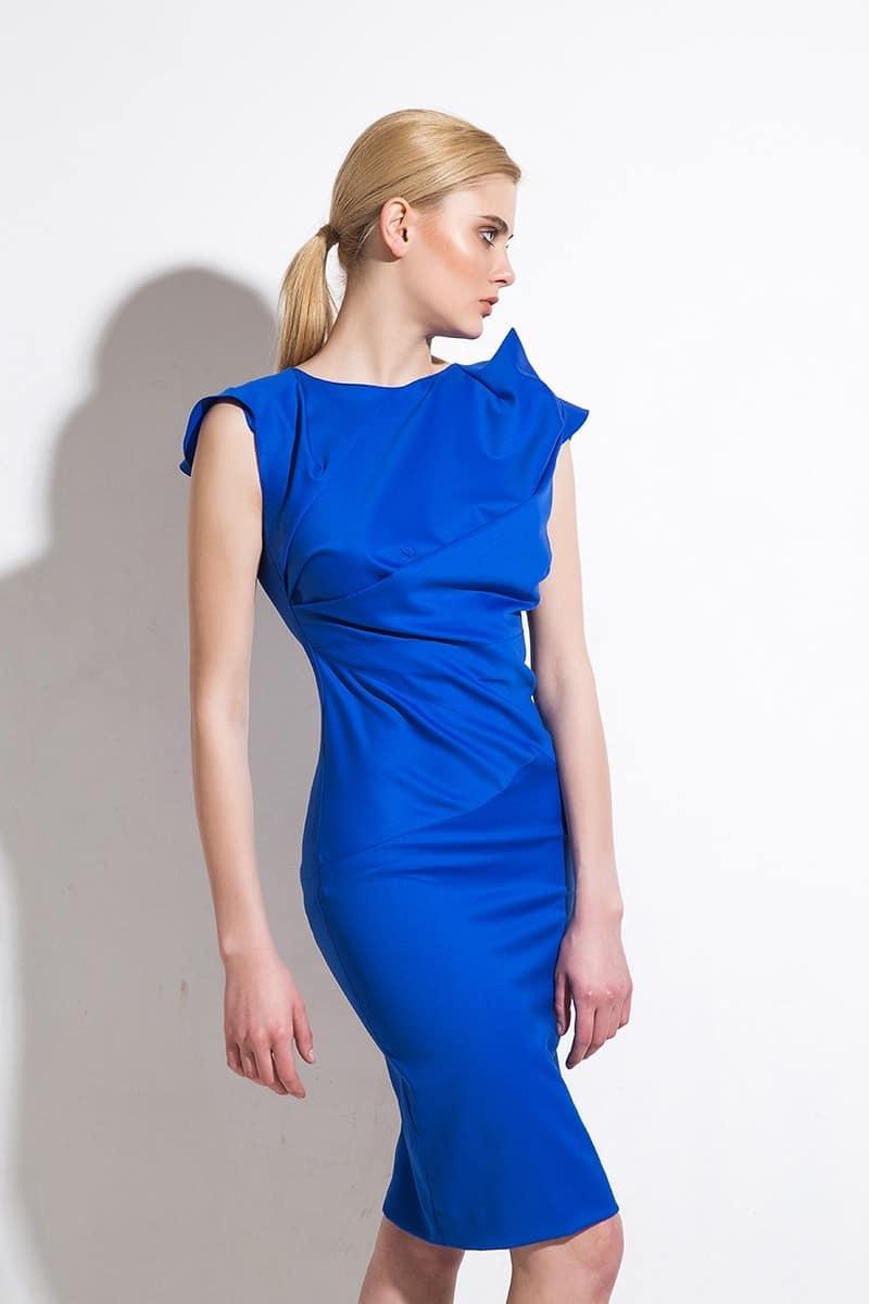 Елегантна дамска рокля 1197