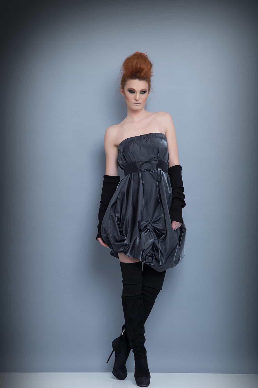 Асиметрична рокля 1210
