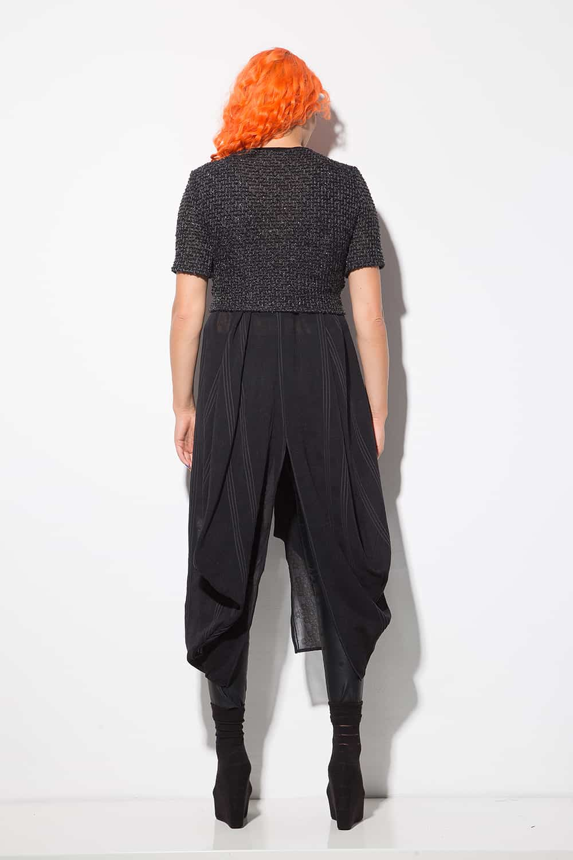 Къса дамска блуза 1220